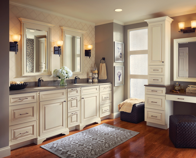 Kitchen Cabinets Pictures Gallery kraftmaid bath cabinet gallery | kitchen cabinets atlanta, ga