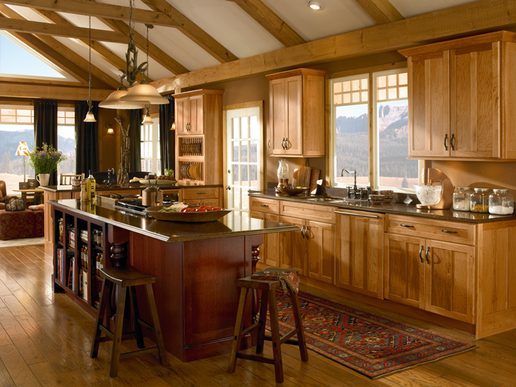 Kitchen Island Kraftmaid kraftmaid kitchen cabinet gallery | kitchen cabinets atlanta, ga