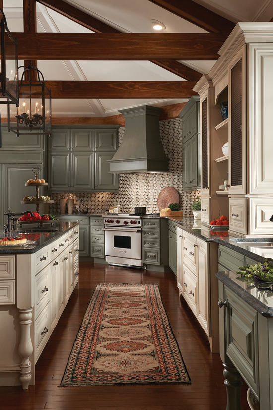 KraftMaid Kitchen Cabinet Gallery