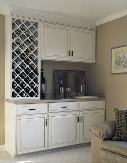 Mouser Bar and Wine Cabinet Gallery   Kitchen Cabinets Atlanta, GA