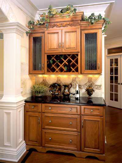 Mouser Bar and Wine Cabinet Gallery & Mouser Bar and Wine Cabinet Gallery | Kitchen Cabinets Atlanta GA